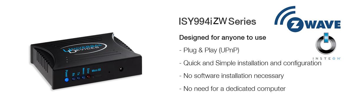 ISY994iZw Series
